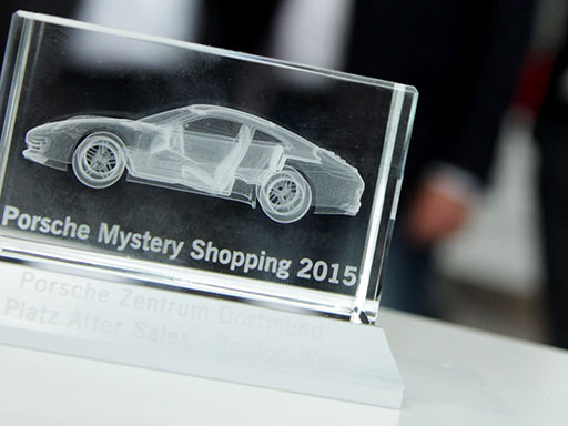 Porsche Mystery Shopping Award 2015