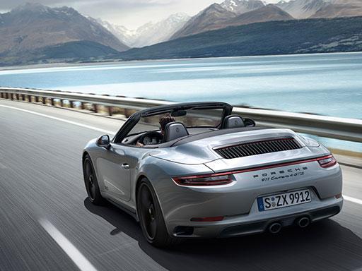 Exklusives Leasingangebot für gewerbliche Kunden: 911 Carrera 4 GTS Cabriolet