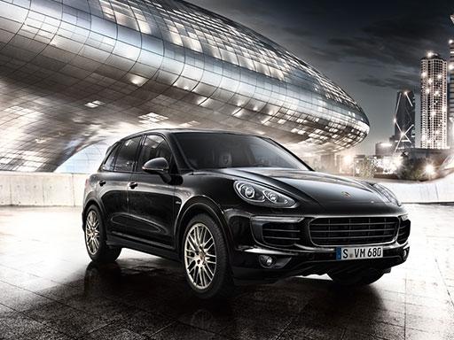 Unser exklusives Leasingangebot für gewerbliche Kunden: Der Cayenne Diesel Platinum Edition.