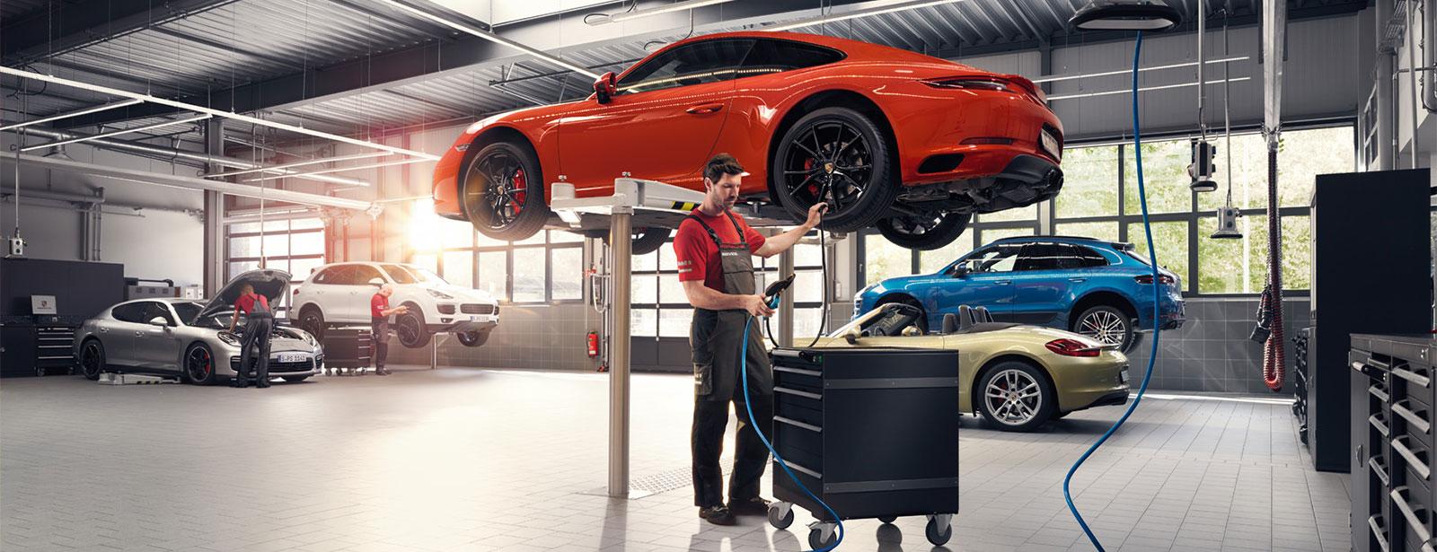 Porsche Service | Service | Kundendienst